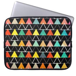 Douille géométrique colorée d'ordinateur portable protection pour ordinateur portable