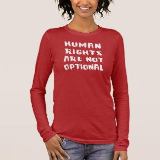 Douille nanoe de Hanes des femmes de droits de T-shirt À Manches Longues