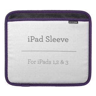 Douille personnalisée d'iPad Poches iPad