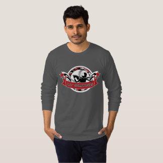 Douille T de l'habillement américain des hommes de T-shirt