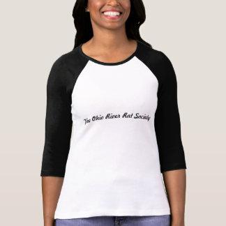 Douille T du rat 3/4 de rivière T-shirt