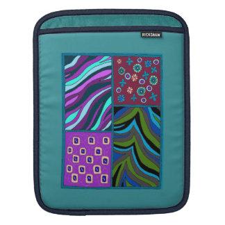 Douille tropicale audacieuse de verticale d'iPad Poches Pour iPad
