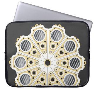 Douille urbaine d'ordinateur portable de napperon housse pour ordinateur portable