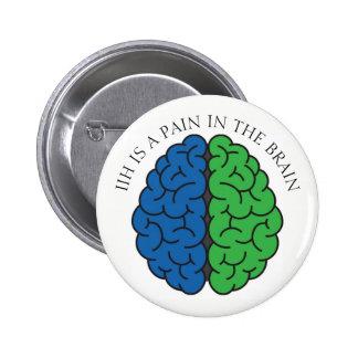 Douleur de cerveau d'IIH Badge