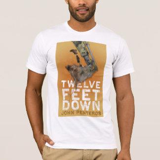 Douze pieds vers le bas de chemise t-shirt