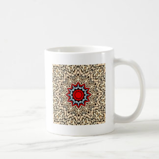 Douze points de mandala mug