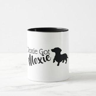 Doxie a obtenu la tasse de classique de Moxie
