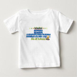 Dr. B Head de théorie d'augmentation de décision T-shirts