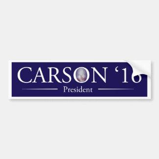 Dr. Ben Carson pour le Président adhésif pour Autocollant De Voiture