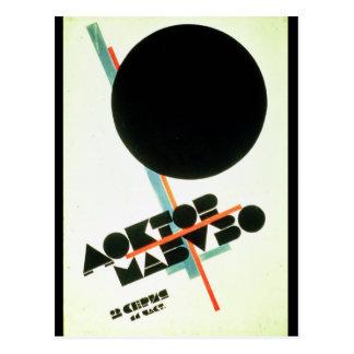 Dr. Mabuso, 1922 Carte Postale