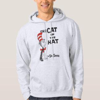 Dr. Seuss | le chat dans le livre de casquette Veste À Capuche