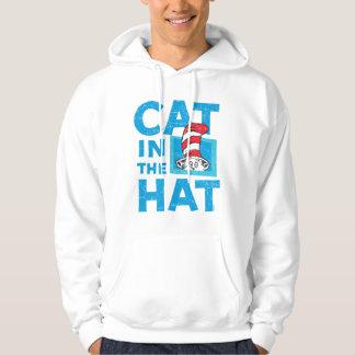 Dr. Seuss | le chat dans le logo de casquette - Veste À Capuche