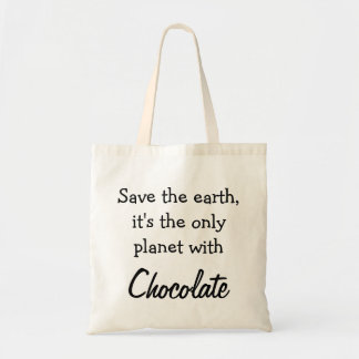 Draagtas sacoche citation le chocolat terre sac