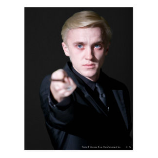 Draco Malfoy 2 Cartes Postales