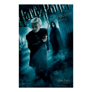 Draco Malfoy et Snape 1 Posters