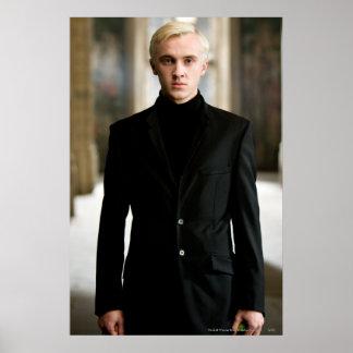 Draco Malfoy tout droit Poster