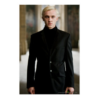 Draco Malfoy tout droit Posters