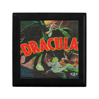 Dracula Petite Boîte À Bijoux Carrée