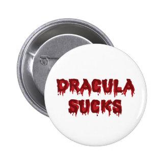 Dracula suce - le vampire drôle de Halloween Badge