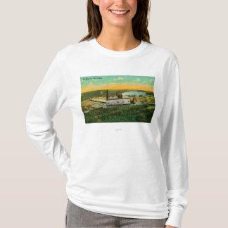Dragage pour l'extraction de l'or dans AlaskaState T-shirt