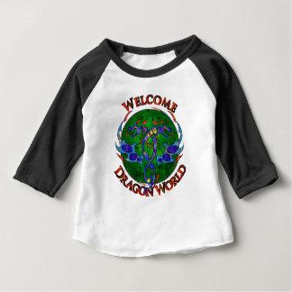 Draginossium - monde de dragon t-shirt pour bébé