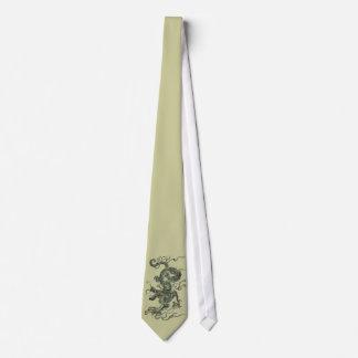 Dragon asiatique cravate