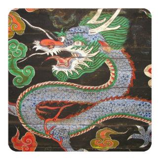 Dragon asiatique du dîner   carton d'invitation  13,33 cm