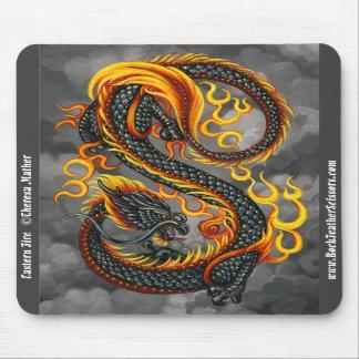 dragon asiatique tapis pour souris et dragon asiatique tapis de souris. Black Bedroom Furniture Sets. Home Design Ideas