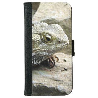 Dragon barbu coque avec portefeuille pour iPhone 6