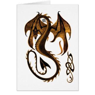 Dragon Carte De Vœux