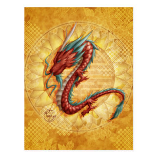 Dragon Carte Postale