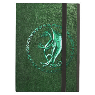 Dragon celtique vert