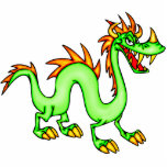 Dragon chinois beau photo en relief