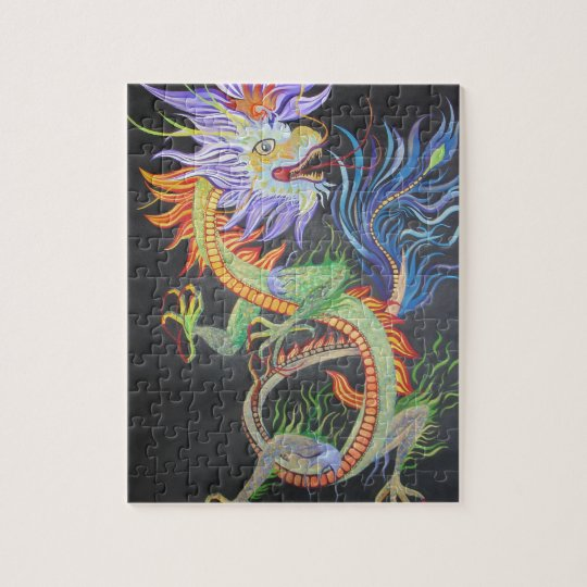 Dragon chinois puzzle