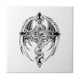 Dragon cross carreau