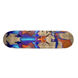 Dragon d'arc-en-ciel skateboard 21,6 cm