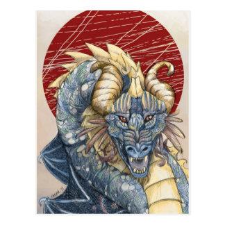 Dragon de chaos carte postale