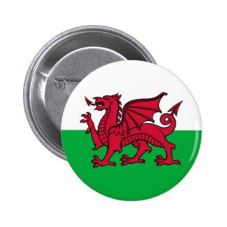 Dragon de Gallois Badge Rond 5 Cm