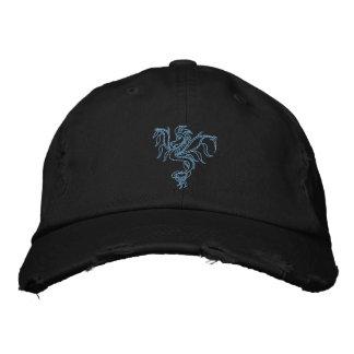 Dragon de guerrier casquette brodée