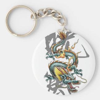 Dragon de Japonais de Fuku-Riu Porte-clé Rond
