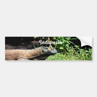 Dragon de l'Indonésie Komodo Autocollant De Voiture