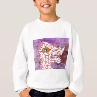 Dragon de mosaïque sweatshirt