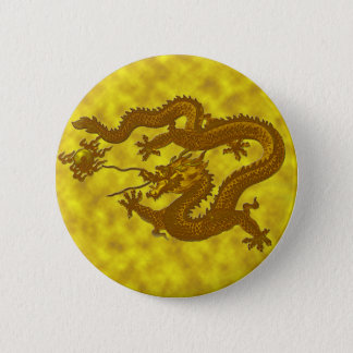 Dragon de pièce d'or badges