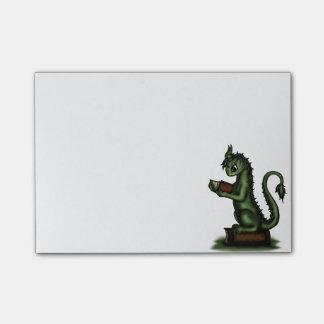 Dragon de rat de bibliothèque post-it®