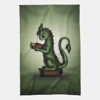 Dragon de rat de bibliothèque serviettes pour les mains