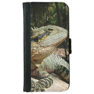 Dragon d'eau australien coque avec portefeuille pour iPhone 6