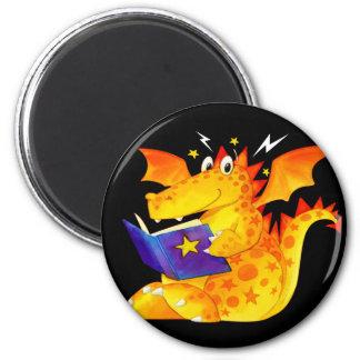 Dragon drôle de Halloween de l'enfant Aimant