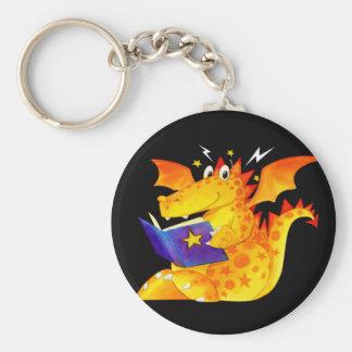 Dragon drôle de Halloween de l'enfant Porte-clés