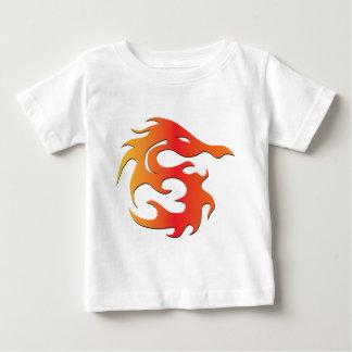 Dragon du feu t-shirt pour bébé