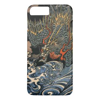 Dragon en mer coque iPhone 7 plus